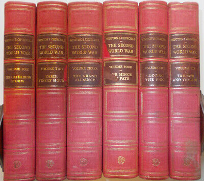 The Second World War Winston Churchill The Chartwell Edition Six Vols Complete