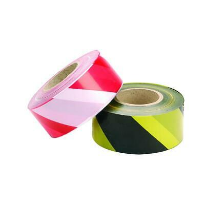 Barrier tape Black & Yellow Red & White Hazard Warning Caution Non adhesive