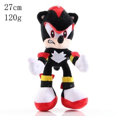 """Official Sonic The Hedgehog Shadow 11"""" Large Plush Soft Toy Teddy New With Tags"""