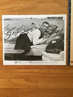 Connie Stevens Hand Signed Autograph -A Collectors Must Have