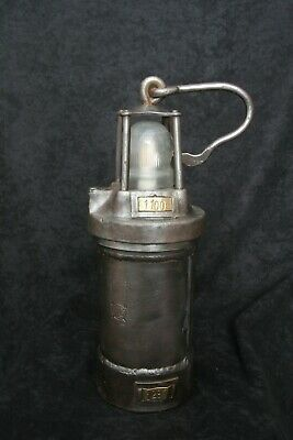 Old Mining Lamp with LED light (reworked)