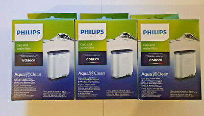 3x ORIGINAL SAECO PHILIPS Aqua Clean Kalk Filter Wasserfilter CA 6903