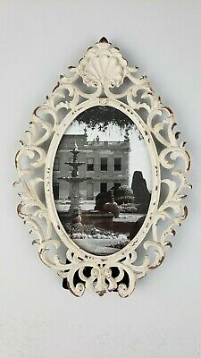 15 x 10.5 Ornate Gray Finish 15 x 10.5 MONOINSIDE® MONO-J02N Plastic Vintage /& Classic Baroque Design MONOINSIDE Small Decorative Framed Oval Wall Mounted Mirror