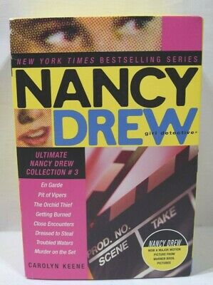 Lot of 8 Nancy Drew: Girl Detective Ultimate Books Collection #3 Box Set #17-24
