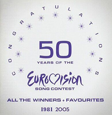 Various - Congratulations 50 Years of the Eurovision Song C... - Various CD W6VG
