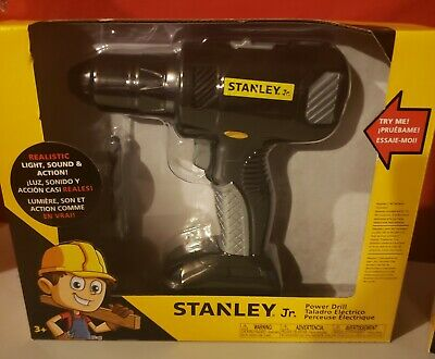 Stanley Jr. Power Drill / Toy Drill New workshop tools toolbench