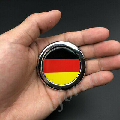 Universal 3D Metal Car Body Emblem GERMANY GERMAN FLAG Badge Sticker Decal tR89