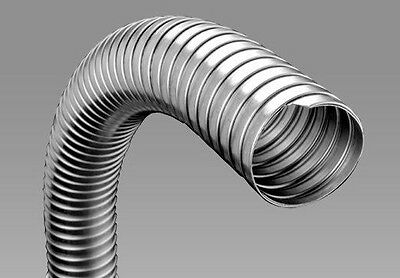 """2/"""" I.D.x10/"""" long clamp-on Flexible Exhaust Pipe"""