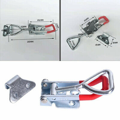 2pcs 300Kg Durable Triangle Shaped Lever Latch Heavy Duty Toggle Clamp Tools