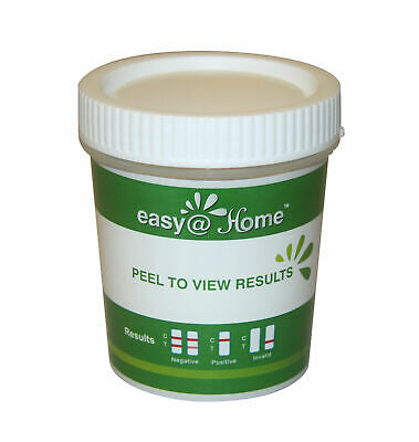 5 Pack Easy@Home 14 Panel Drug Test Cup THC, COC  Urine Drug Test Cup NEW
