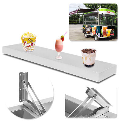BEST 4 Feet Shelf for Concession Window Stand Truck Accessories Business