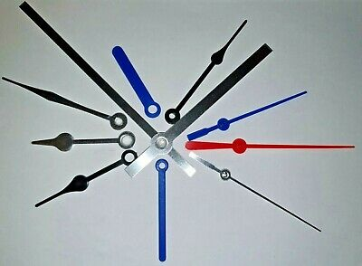 New Replacement Quartz  Clock Hands For Clock Movement Mechanism Press Fit