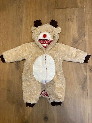 JOJO MAMAN BEBE Reindeer Snow Suit 0-3 Months Sold Out