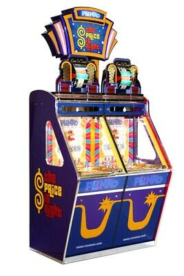 Price is Right Coin Pusher redemption arcade game from ICE