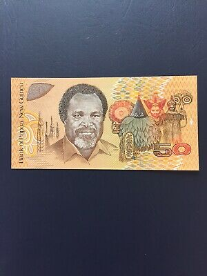 PGK50 Denomination Paper Bank Note. Ideal For An Avid Note Collector.