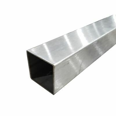 """304 Stainless Steel Square Tube, 1"""" x 1"""" x 0.049"""" x 48"""" long (Polished)"""