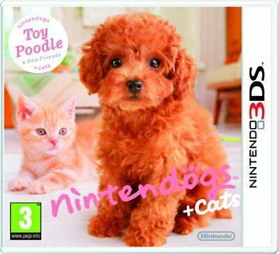 Nintendogs + Cats - Toy Poodle + New Friends (Nintendo 3DS) - Game  8KVG The