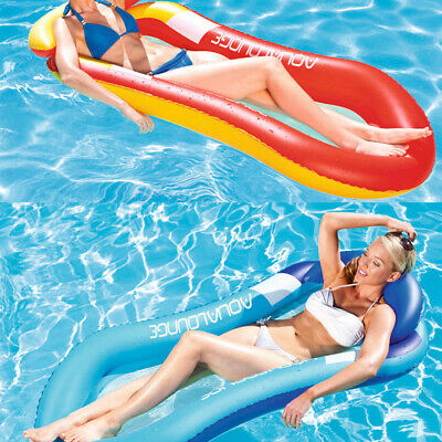 FLOATING BED HAMMOCK Rafts Water Floats For Lake Swimming ...
