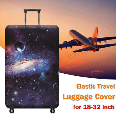 Protector Elastic Travel Luggage Cover Suitcase Trolley Dustproof Case 18-32''