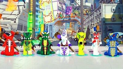 Authentic LEGO Ninjago Serpentine Minifigures - Skales, Fangdam, etc - You Pick