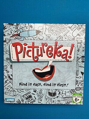 Pictureka Board Game Hasbro Parker Brothers 2007 (Replacement Dice) (No Timer)