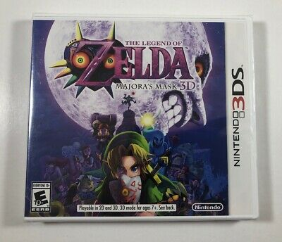 The Legend of Zelda: Majora's Mask 3D (Nintendo 3DS, 2015) Original Case