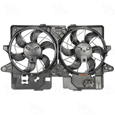 TYC Dual Radiator and Condenser Fan Assembly for 2004-2008 Mitsubishi xm