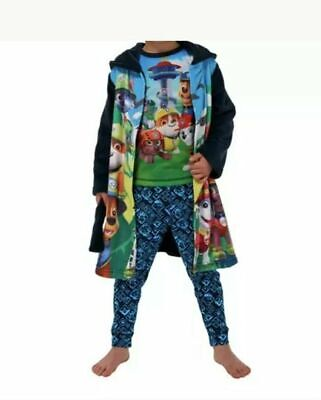 Paw Patrol Nightwear Set 2-3 years Boy's Pyjamas & Dressing Gown Nickelodeon