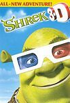Shrek 3-D DVD COMPLETE WITH ORIGINAL CASE & COVER ART BUY 2 GET 1 FREE