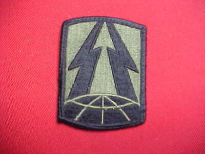 Army Patch subdued merrowed edge 187th Signal Brigade
