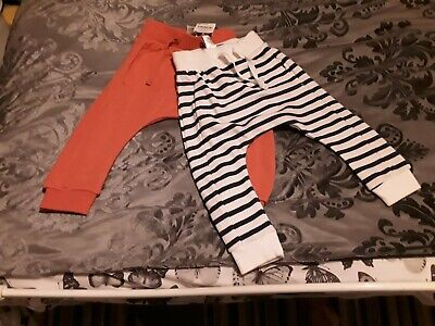 Boys Joggers Age 12-18 Months New From Next 2 Pack