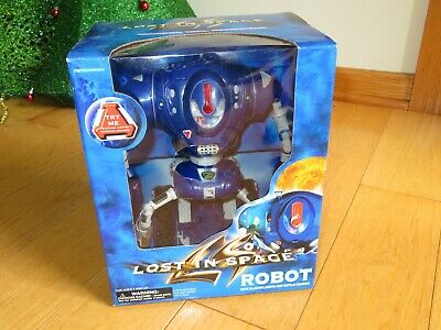 Lost in Space Robot Trendmasters Blazing Lights Battle Sounds NRFB (V34)