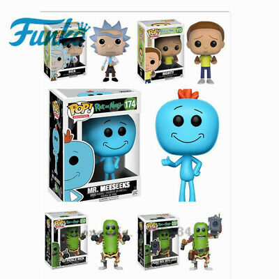 "FUNKO POP ""Rick and Morty"" Mission, Mr. Binder. Action Figure Collectible PVC"