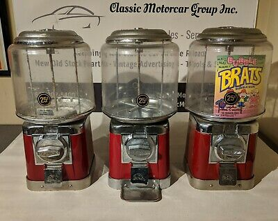 Beaver Vintage Candy Gumball Vending Machine 5 Available Colors
