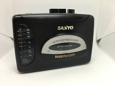 Vintage SANYO WALKMAN Portable Radio Cassette Player ~ VIP-30