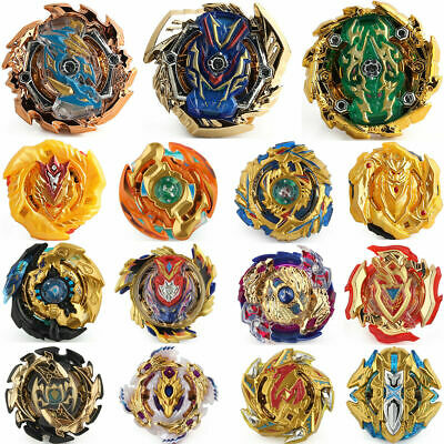 Gold Series Metal Beyblade Burst Gyro Spinning Top No Launcher and No Box Toy