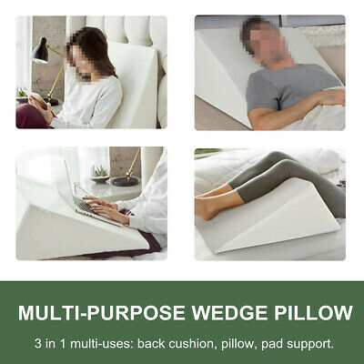 Zuma Therapeutic Foam Bed Wedge Pillow