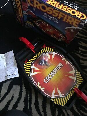 Vintage Hasbro Crossfire Rapid Shoot-out Game Boxed Complete