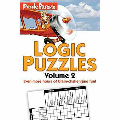 Puzzle Baron's Logic Puzzles, Volume 2 - Paperback NEW Ryder, Stephen  2012-02-0