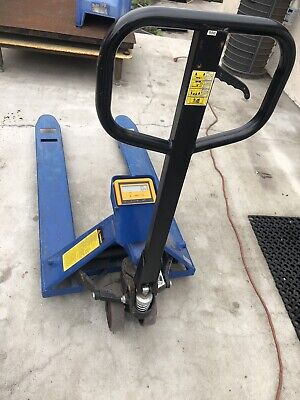 Pallet Jack With Digital Scale 5500 Lbs. Capacity
