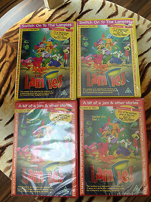 Job Lot Of New Childrens  The Lampies Cartoon Dvds X 100   Ideal To Sell On