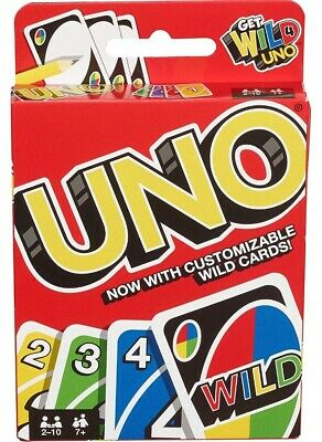 UNO Card Game Original Playing By Mattel Fast Shipping