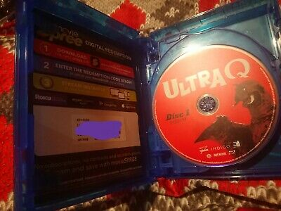 Ultra Q, Ultraman and Ultraseven complete series blu ray streaming codes US only