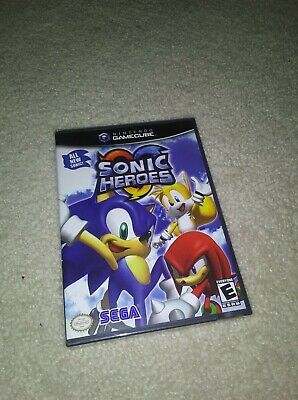 Sonic Heroes Nintendo GameCube Game Factory Sealed NEW