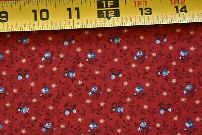 """By 1//2 Yd Peter Pan M2356 Small Dusty-Pink Print on White Quilting Cotton 44/"""""""