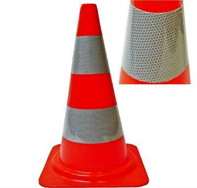 "Heavy Duty Road Traffic cones 18"" (450mm) Self weighted safety cone Red/White"