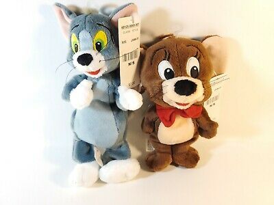 1999 Tom and Jerry Bean Bag Plush Warner Bros Studio  Hanna Barbera