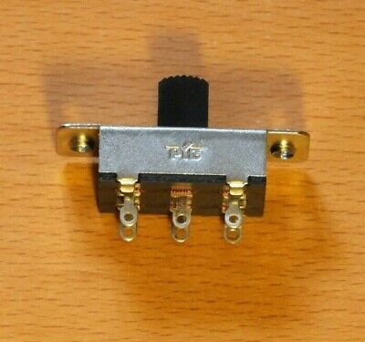 DPDT Three Positon Miniature Slide Switch - Centre Off - 6 pin - 5 Pack