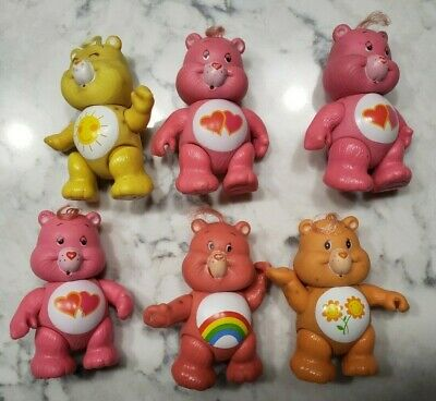 Vintage 1983 Care Bears Friend Funshine Love a Lot Cheer Bear Parts Pieces