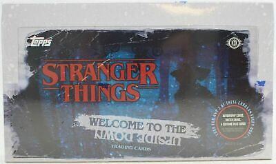 [HOBBY BOX] 2019 Topps STRANGER THINGS WELCOME TO THE UPSIDE DOWN Factory Sealed